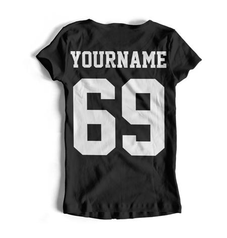 Детские и взрослые именные футболки и майки с номерами, фамилиями, никнеймами, надпиями, лого на заказ от производителя в Украине дешево