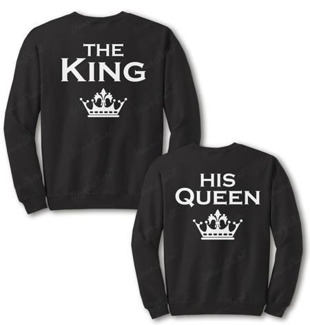 Парные свитшоты King & Queen 04
